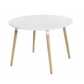 Mesa comedor extensible modelo Circum