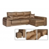 Chaise longue de 2,80  m Lotus -Inka  con cabezales reclinables