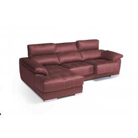 Chaise longue de 2,31 m Loft -Piano  con cabezales reclinables