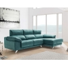 Chaise longue de 2,30 m Freedon-Balto con cabezales reclinables
