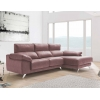 Chaise longue de 2,30 m Freedon-Diamond con cabezales reclinables