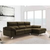 Chaise longue de 2,30 m Freedon-Rado con cabezales reclinables